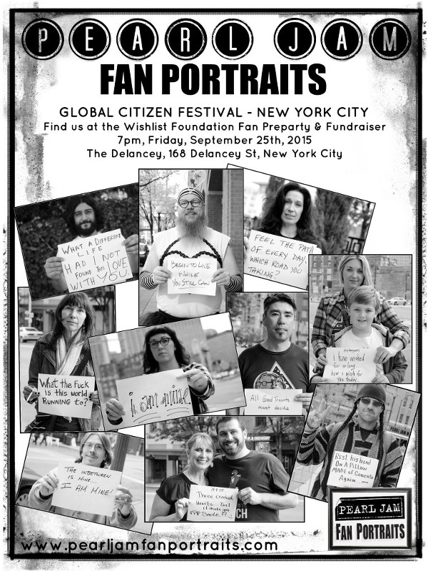 Pearl Jam Fan Portraits - New York City